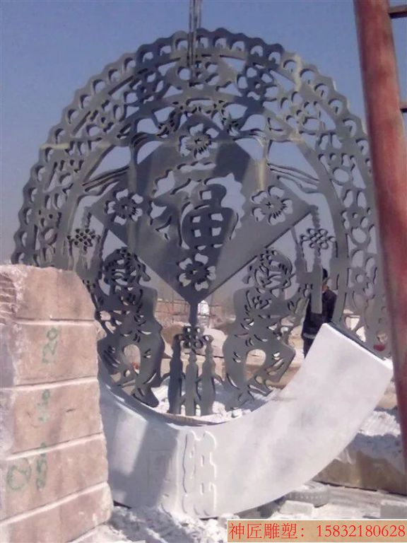 不锈钢雕塑制作厂家 城市景观不锈钢雕塑