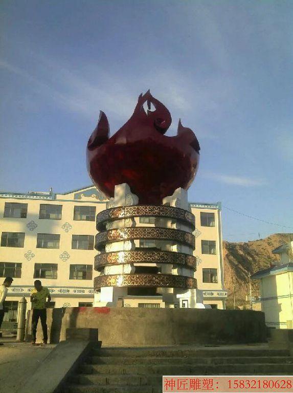 城市广场不锈钢雕塑 景观不锈钢雕塑